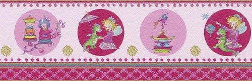 Villa Coppenrath Borte Kinderborte Vlies Prinzessin Lillifee 413403 rosa Borte Kinder