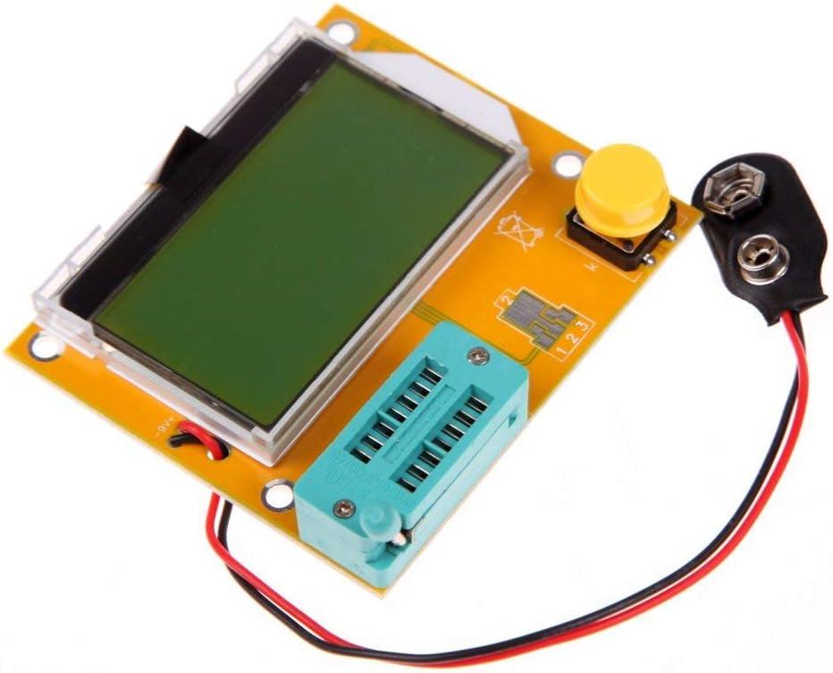 ARCELI LCR-T4 ESR Medidor Transistor Probador Diodo Triodo Capacitancia SCR Inductancia