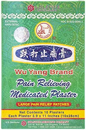 Top 10 Best wu yang pain relieving medicated plaster Reviews