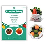 KYEKIO Green Ultra-Fresh Bag, BPA Free Reusable Bags For One-Year Kitchen Freshness, Food ...