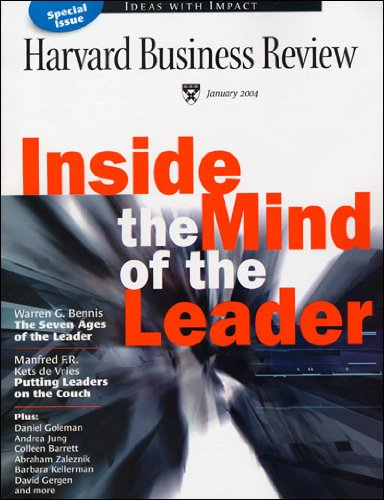 Harvard Business Review, January 2004 cover art