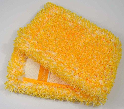 Jemako Bodentuch Bodenfaser gelb lange Faser 42cm - Langflor