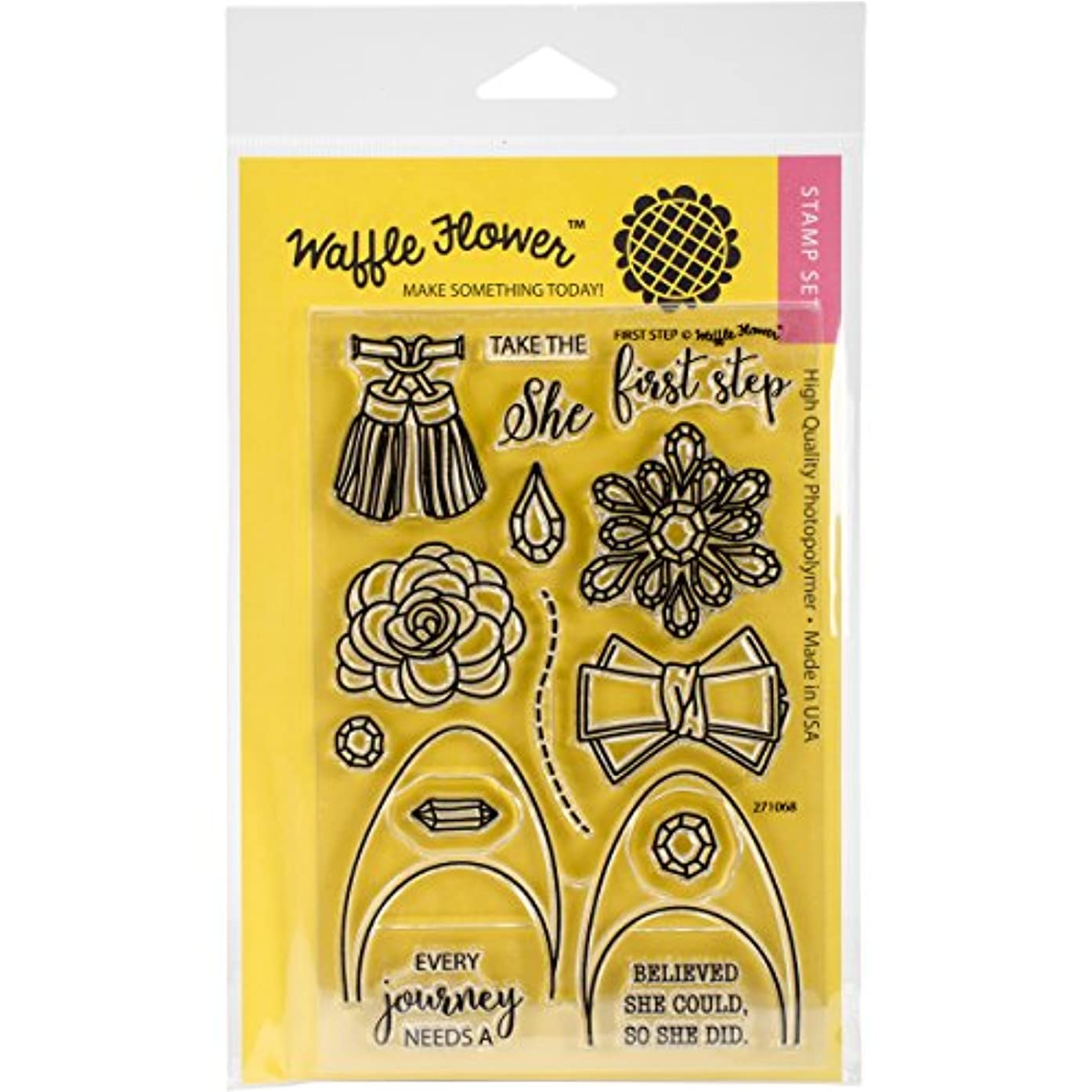 Waffle Flower Crafts 271068 Clear Stamps 4