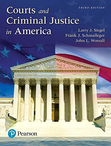 Image OfCourts And Criminal Justice In America, Student Value Edition Plus Revel -- Access Card Package (3rd Edition)