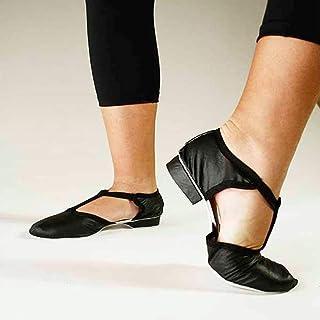 Sapato Boneca para Aula Ensaio de Dança Jazz Material Sintético