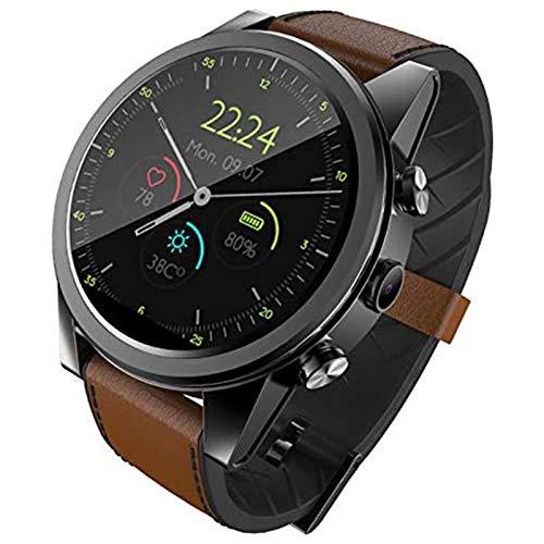 Beirich Reloj inteligente Android de 1 + 16 GB/3 + 32 GB de 1.6 pulgadas redondo Wifi tarjeta SIM 4G deporte reloj inteligente monitor de frecuencia cardíaca cámara para hombres