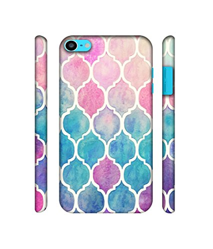 NattyCase Patterns Art Design 3D Printed Hard Back Case Cover for Apple iPod Touch 6th Generation