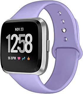 Kmasic Sport Band Compatible with Fitbit Versa/Fitbit...