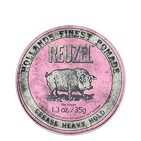 Reuzel Pomade Pink Heavy Hold Grease 5er Pack 5x35 G