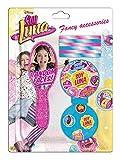 Soy Luna- Blíster con accesorio para cabello, unica (Kids Euroswan WDSL053)