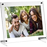 Ailelan Picture Frame, 8.5x11 Clear Acrylic Photo Frame A4 Letter Size Decorative Poster Frame Desktop Tabletop Display(1 Pack)