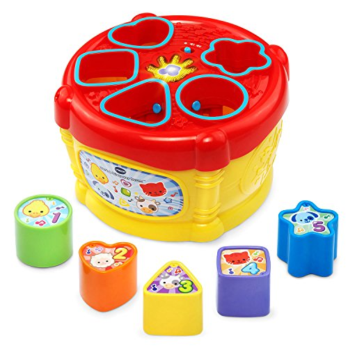 VTech Sort and Discover Drum, Yellow