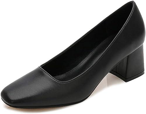 LITHAPP Chaussures Chaussures Chaussures De Travail Chaussures De Soirée De Carrière Pour Femmes Pompes à Talons Hauts Chaussures Cour e96
