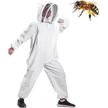 Bees /& Co U74 Costume dapiculture Blanc