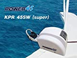 JZ 12V Electric AutoDepoly Anchor Winch for 45 lb. 20KG Anchor Saltwater Marine Pontoon Boat (KPR45SW(WRC)