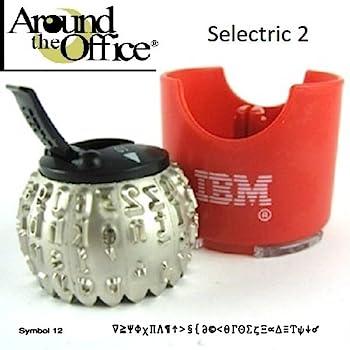 12 IBM SELECTRIC I /& II TYPEWRITER ELEMENT-SYMBOL II SEE PRINT BELOW