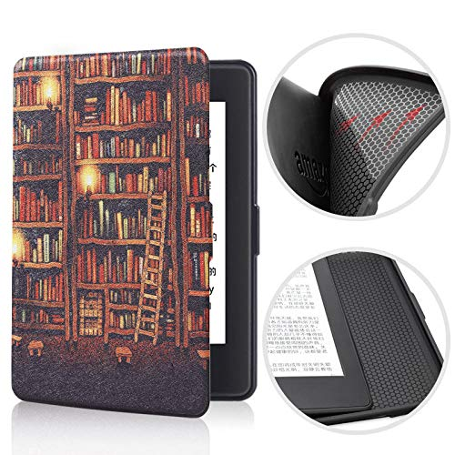 BENGKUI Soft Case für Amazon Kindle für Paperwhite 2/3 Smart Shell Cover mit Auto...