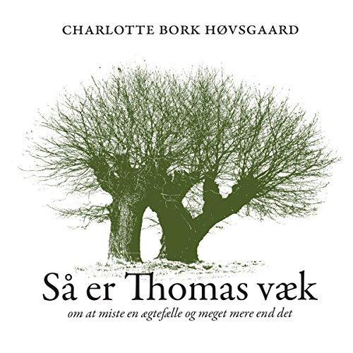 Så er Thomas væk audiobook cover art