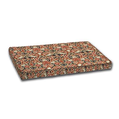 Comfort Classics Inc. Outdoor Loveseat Cushion 24x45.5x4,...