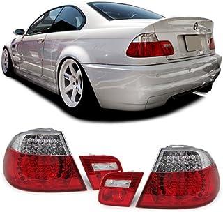 Carparts Online 11753 LED Rückleuchten rot klar Facelift Optik
