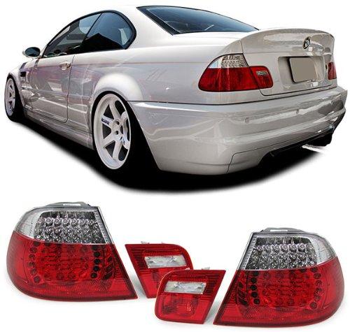 Carparts-Online 11753 LED Rückleuchten rot klar Facelift Optik