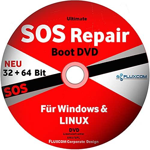 SOS Ultimate Boot & Repair CD/DVD| Windows 10 |8 | 7| Vista| XP - PC REPARATUR 2021