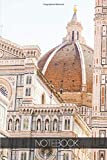 Notebook - Travel Journal - 110 pages: Florence, Firenze, Italy - Duomo Cathedral