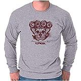 CBGB Home of Underground Rock NYC Vintage Long Sleeve T Shirt Sport Grey