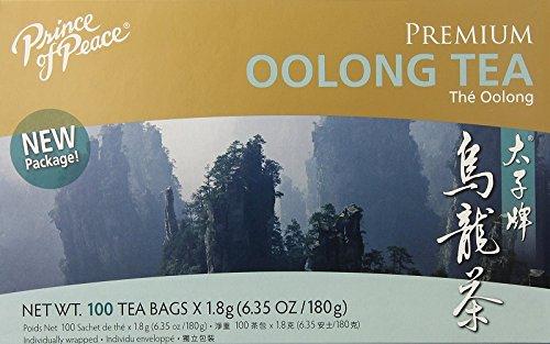 Prince of Peace Oolong Tea - 100 Tea Bags net wt. 6.35oz (180g)