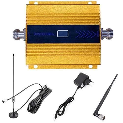 CRGL Amplificatore di Segnale per Cellulare Ripetitore LE-4G/DCS 1800MHz + Band3 + Band9 Migliora I Dati di Chiamata 4G E L'Accesso a Internet, Kit Amplificatore Segnale Ricevitore
