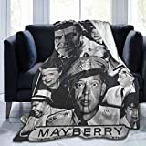 Zbigtee The Andy Griffith Show Super Soft Flannel All-Season Lightweight Living Room/Bedroom Warm Blanket.