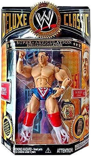 WWE JAKKS BRITISH BULLDOG DELUXE CLASSIC SERIES 2 FIGURE by Jakks by Wrestling
