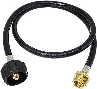 YARNOW QCC1 adapter propanu wąż mosiężne okucia 1 lb na 20 kg zamiennik konwertera do Q grill gazowy zbiornik kempingowy t...