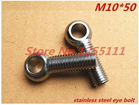 Screw specialty shop 5pcs M1050 M10 x Popular popular 50 Nut Stainless Bolt Eye Steel