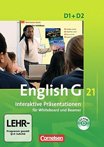 English G 21 - Materialien für Whiteboard und Beamer - Ausgabe D: Band 1/2: 5./6. Schuljahr - Interaktive Präsentationen für Whiteboard und Beamer: CD-ROM