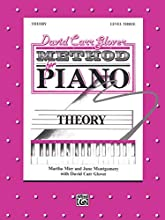 David Carr Glover Method for Piano Theory: Level 3