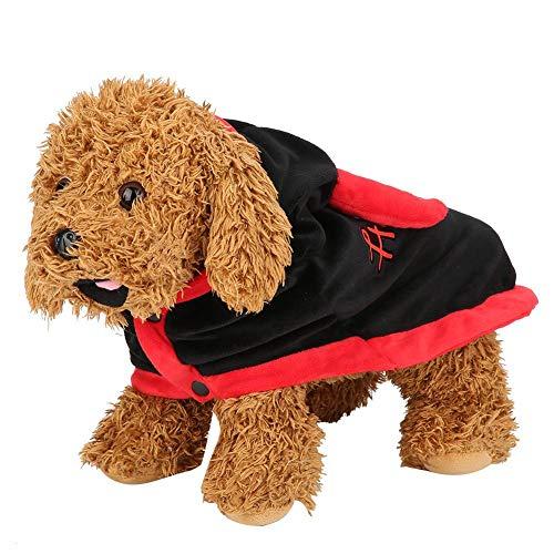 Mascota Perro Disfraz de Halloween Capa cálida de Invierno con...