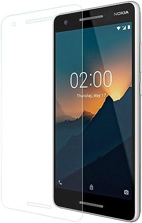Cophone Verre trempé Nokia 2.1, Film de Protection écran Premium Anti Chocs et Casse, Anti Empreintes, Bords arrondis,dureté Max 9H Tempered Glass 2,5d