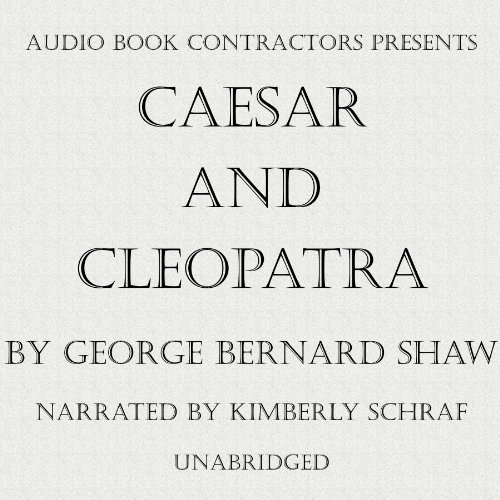 Caesar and Cleopatra audiobook cover art