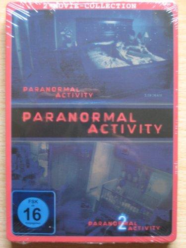 Paranormal Activity 1+2 [2 DVDs] STEELBOOK