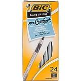 Bic Black -Round Stic Grip Pens Ballpoint Pen (GSMG241)