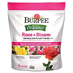 Burpee Organic Rose and Bloom Granular Plant Food