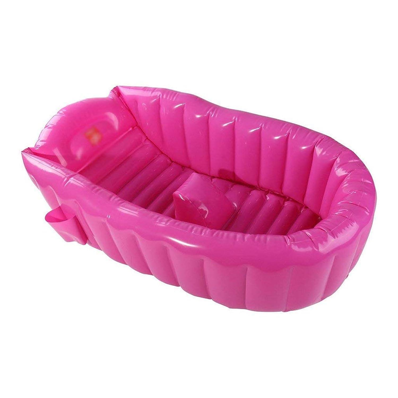 YUANY INFLATABLE BATH HOMEインフレータブルインフレータブル折りたたみバスタブブルーバスタブ(カラー:ピンク)