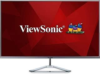 Viewsonic VX3276-2K-MHD 80 cm (32 Zoll) Design Monitor (WQHD, HDMI, DP, mDP, Eye-Care, Eco-Mode) silber-schwarz