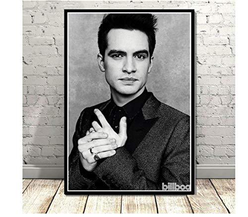 koushuiwa Brendon Atre Panic At The Nightclub Star Music Posters and Prints Wall Art Painting Canvas Pictures Home Decor Unframed Cuadros 50X70Cm Gh1262