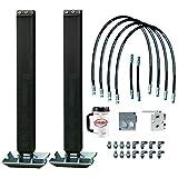 Double Hydraulic Trailer Jack Add-on kit with Selector Valve | 10k Atlas Hydraulic Trailer Jacks