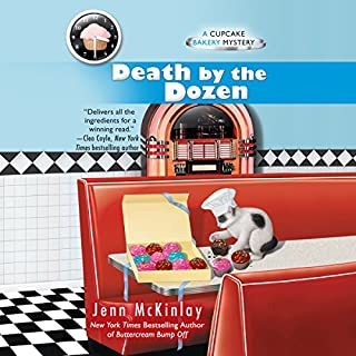 Death by the Dozen audiobook cover art