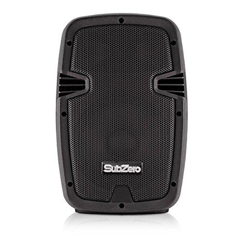"SubZero SZS-P8A 8"" Active PA Speaker with Digital Media Player"