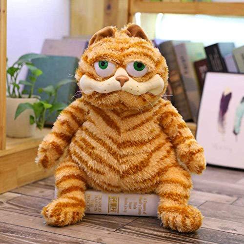 JXINGY Juguete De Felpa Kawaii Gato Gordo Juguete De Felpa Muñecos De Peluche Divertido Felpa Garfield Gato Juguete Dibujos Animados Suave Muñeca para Niños Regalo De Cumpleaños