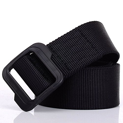 FHCGFBYD Cinturón de Lona Cinturón de Cintura de Nylon Casual Cinturón de...